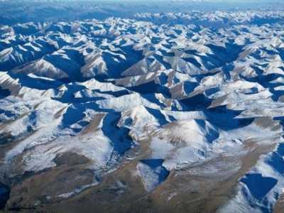 昆仑山脉图片 昆仑山为何被称为众神之山
