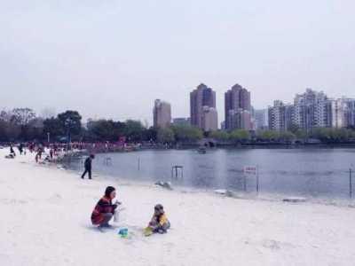 上海浦东沙滩 魔都原来有这么多玩沙好去处