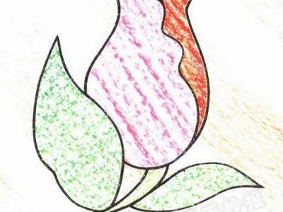 玫瑰花朵简笔画 玫瑰花简笔画图片教程